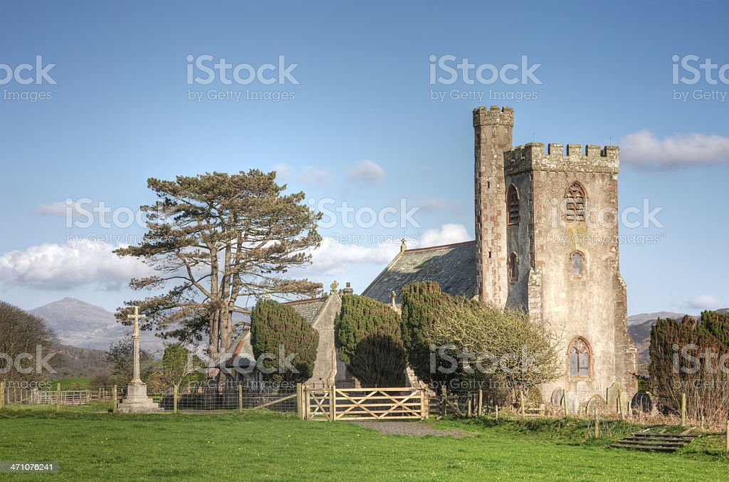 Victorian Country Church royalty-free stock photo