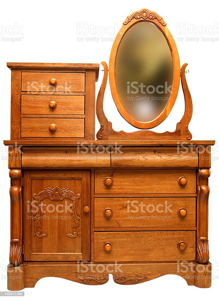 Victorian Dresser royalty-free stock photo