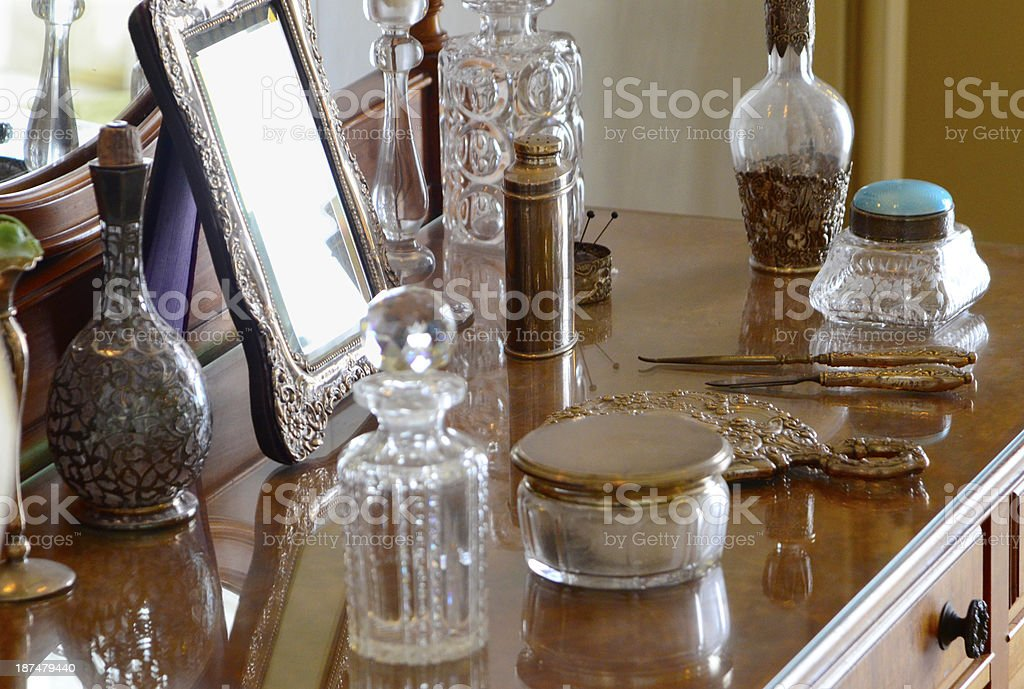 Victorian Dressing Table stock photo