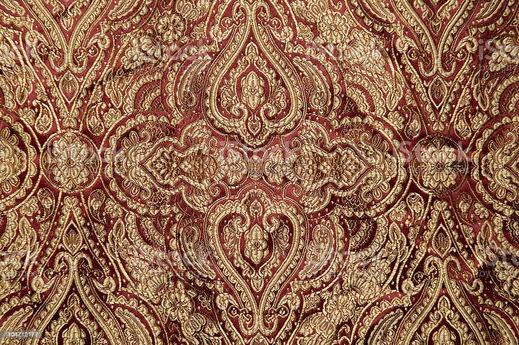 Victorian Fabric royalty-free stock photo