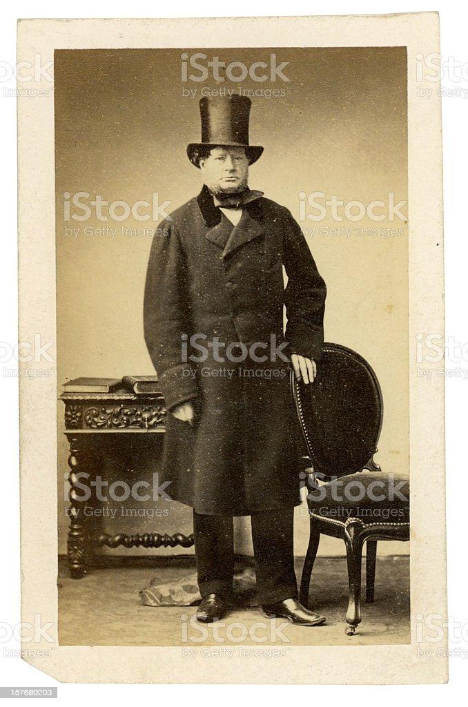 Victorian Gentleman stock photo