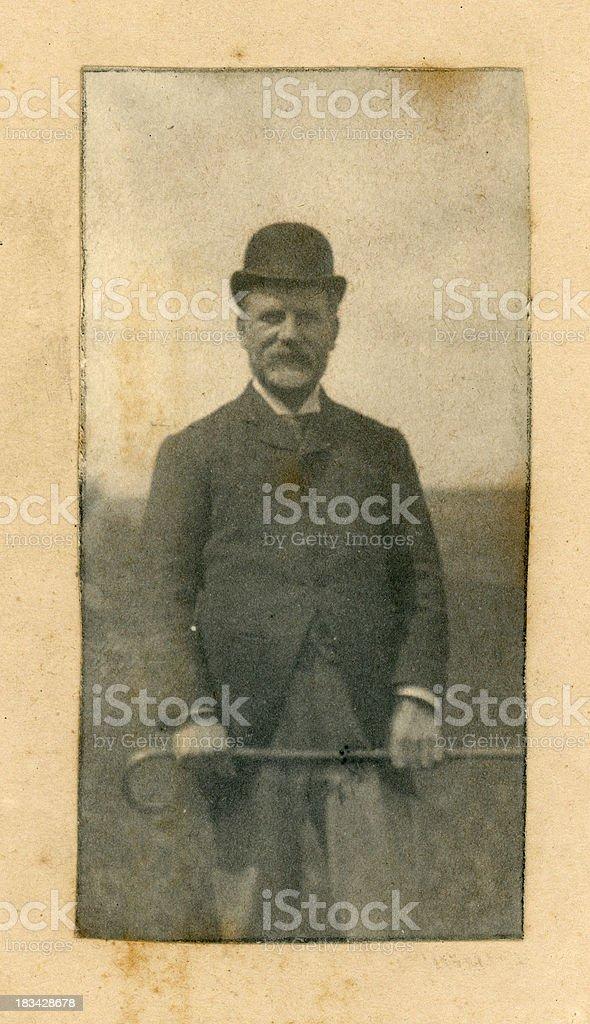 Victorian Gentleman royalty-free stock photo