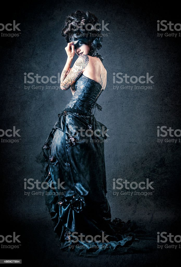 Victorian Gothic stock photo