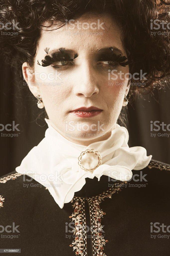 Victorian Haute Couture stock photo