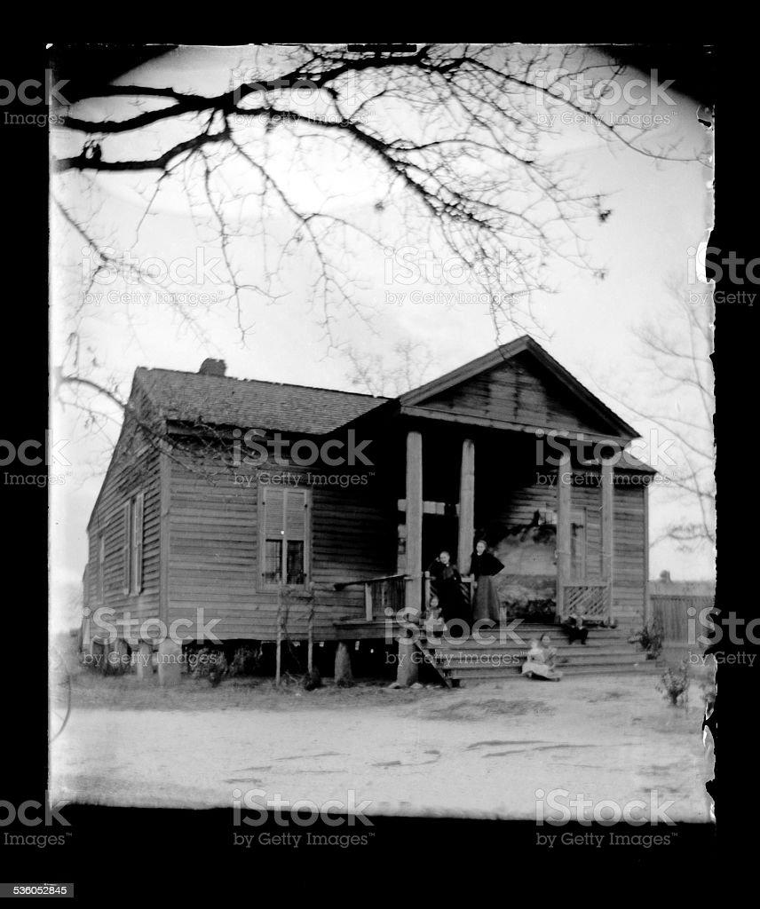 Victorian Home, Circa 1890 stock photo