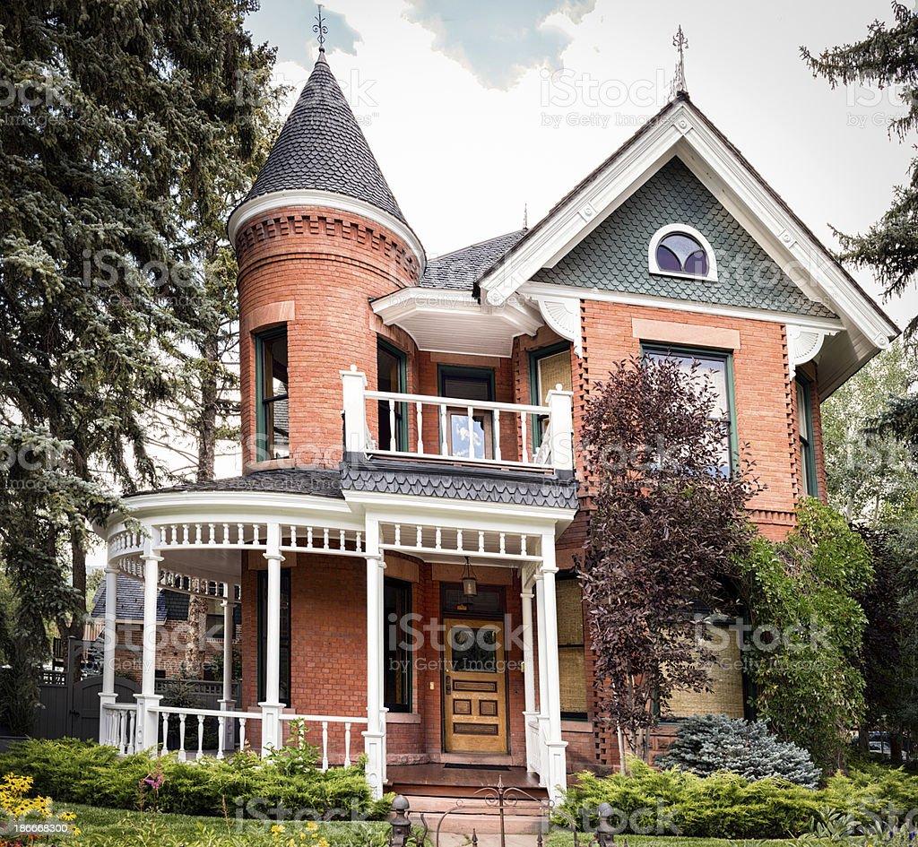 Victorian House stock photo