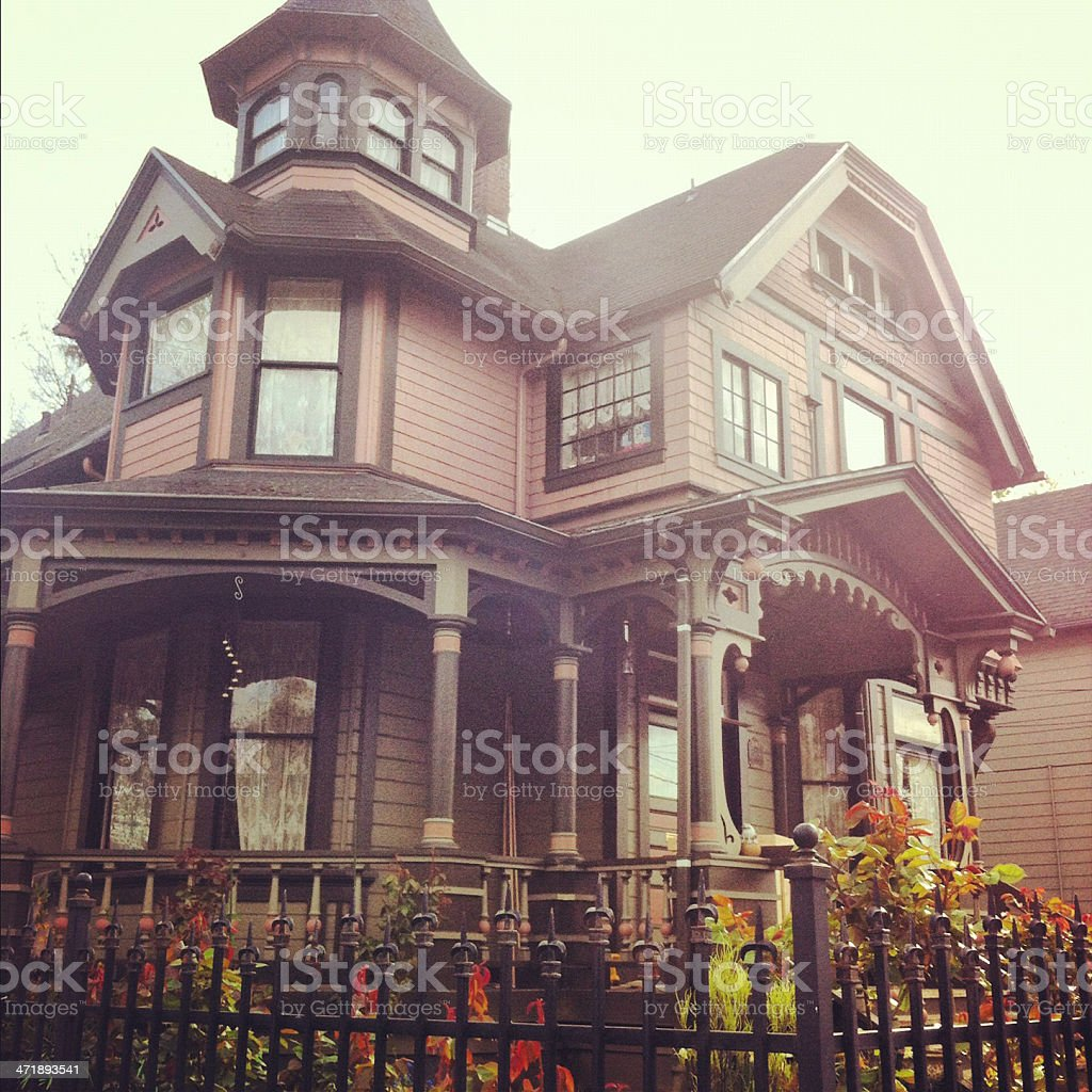 Victorian House royalty-free stock photo