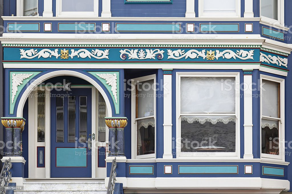Victorian House - San Francisco royalty-free stock photo