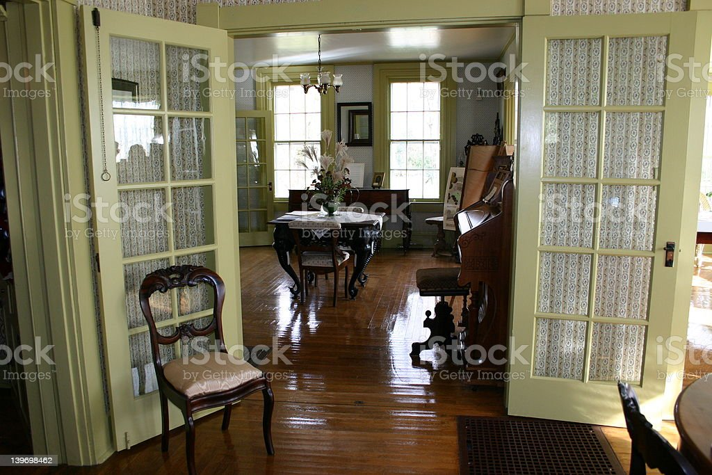 Victorian Interior stock photo