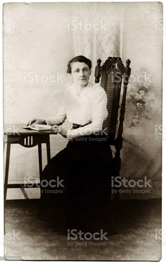 Victorian Lady stock photo