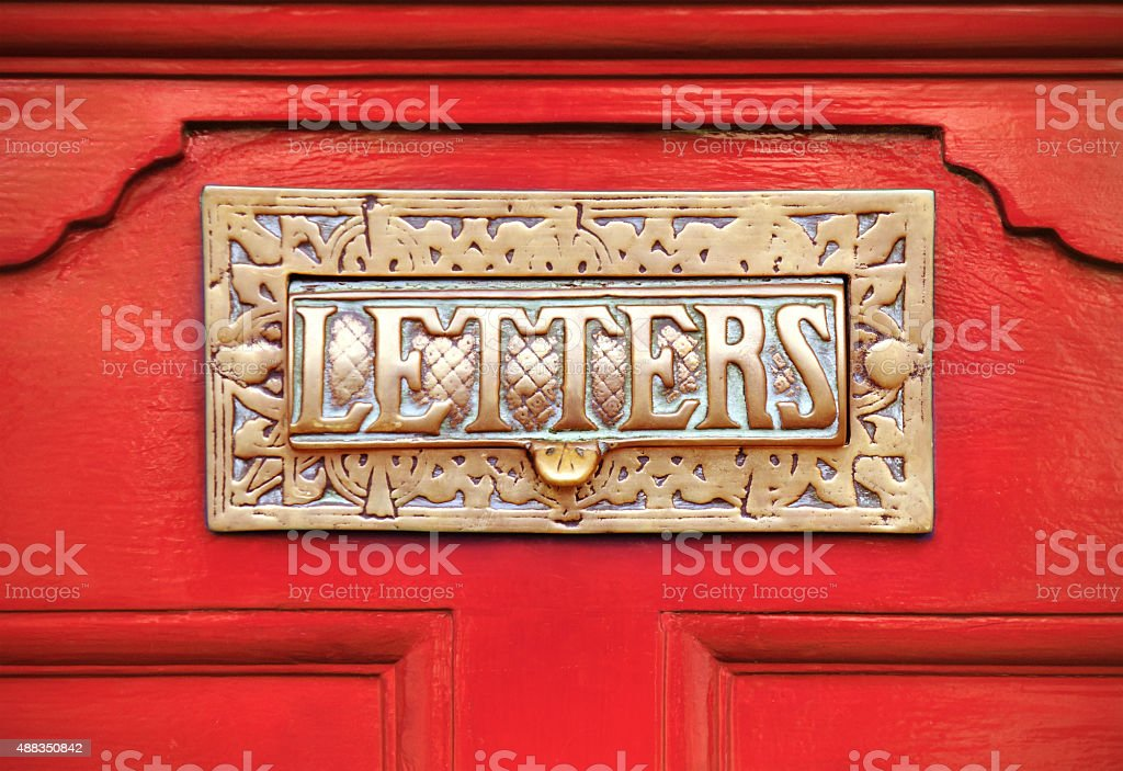 Victorian Mail stock photo