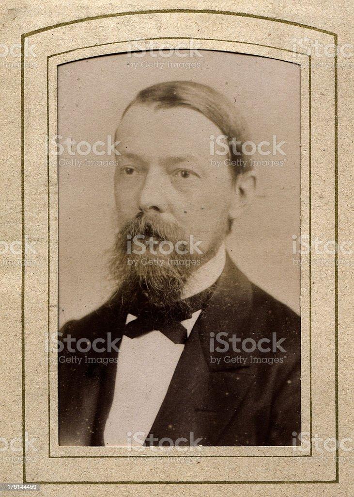 Victorian Man royalty-free stock photo