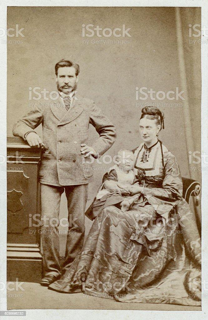 Victorian Man stock photo