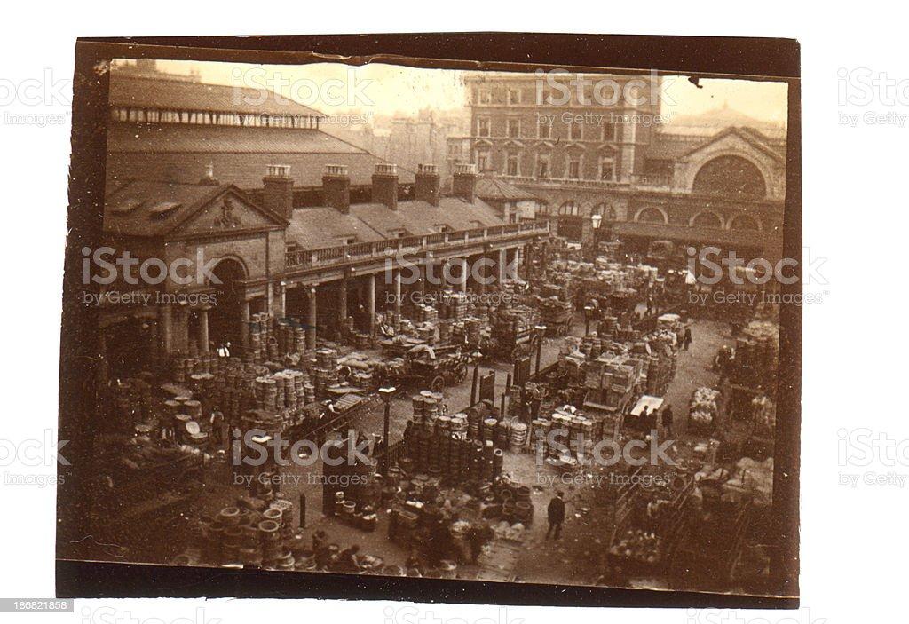 Victorian Market stock photo