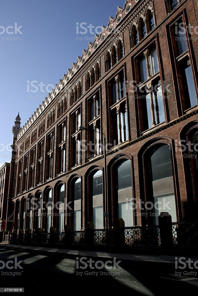 Victorian Offices near Park Square in Leeds stock photo