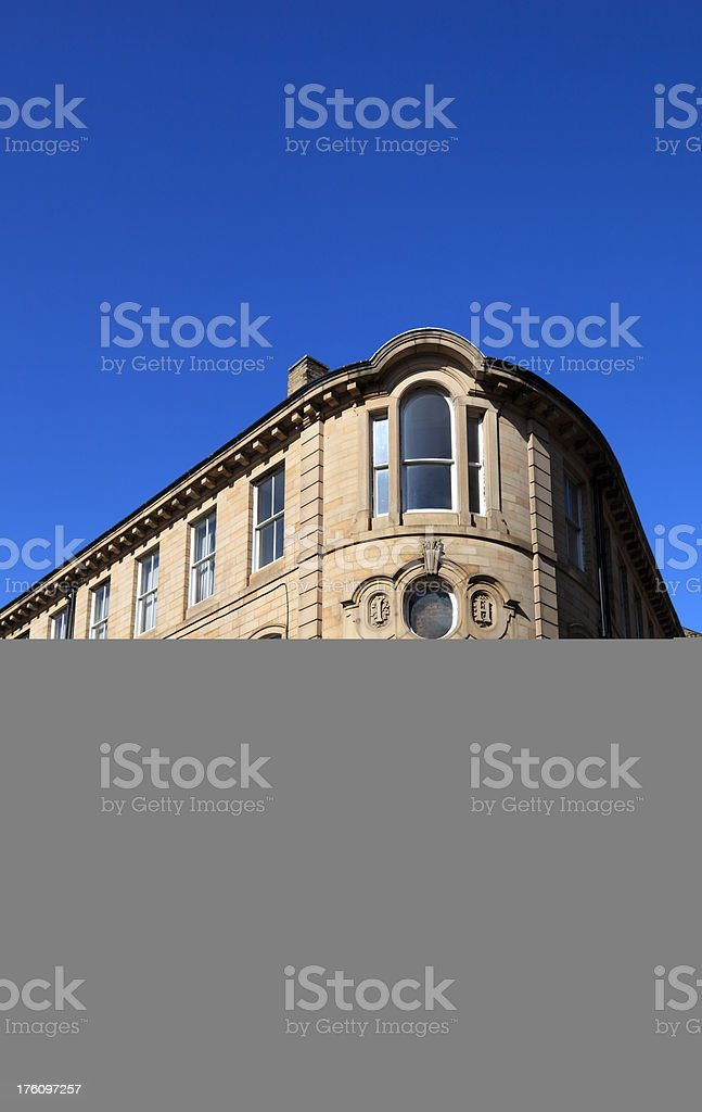 Victorian offices royalty-free stock photo