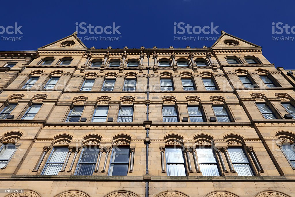 Victorian offices stock photo