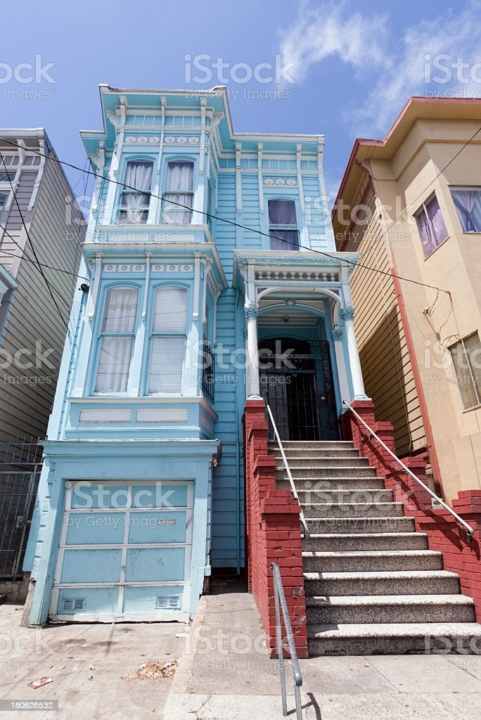 SF Victorian royalty-free stock photo