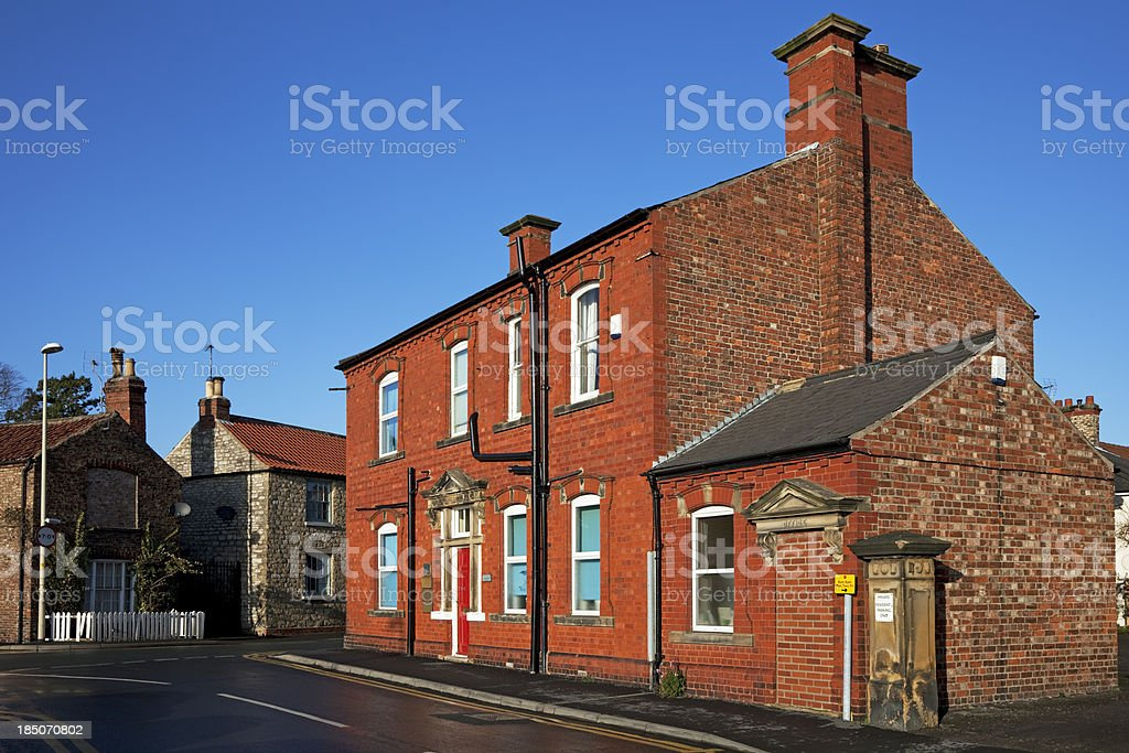Victorian Police Station, offices stock photo