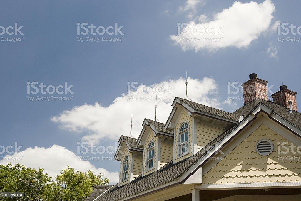 Victorian Sky stock photo
