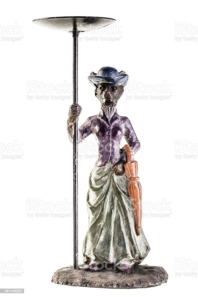 Victorian statuette royalty-free stock photo