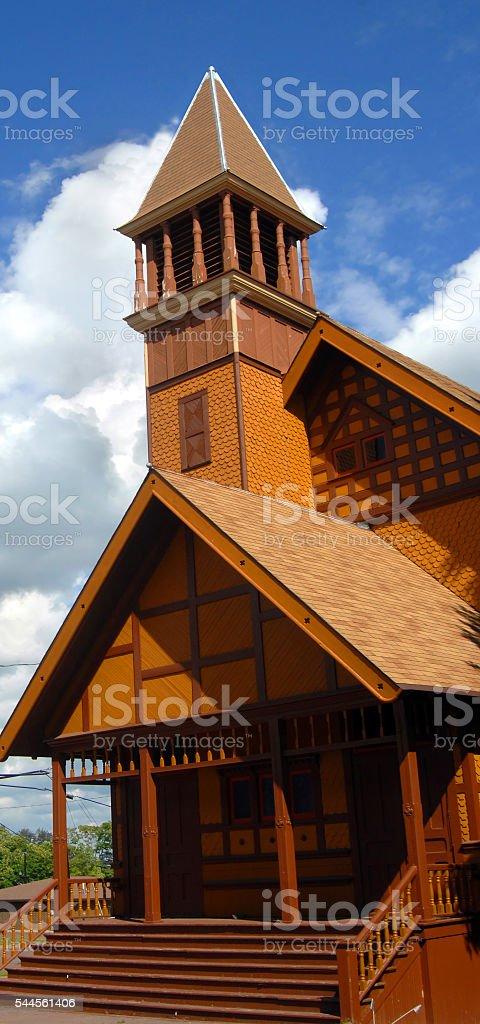 Victorian Stick Architecture stock photo
