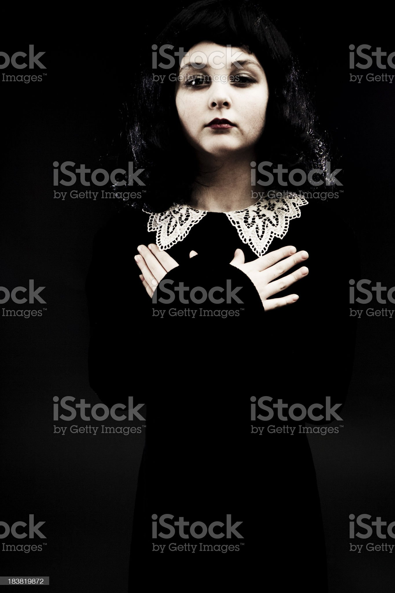 Victorian Style Child royalty-free stock photo