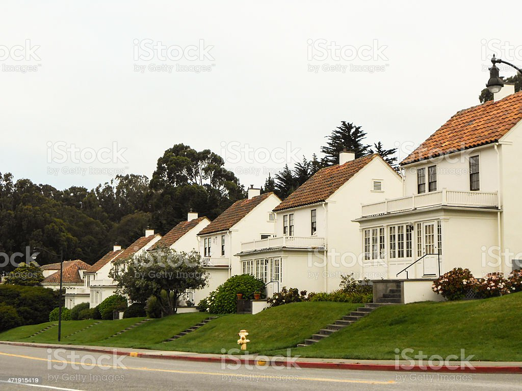 Victorian style house on San francisco city royalty-free stock photo