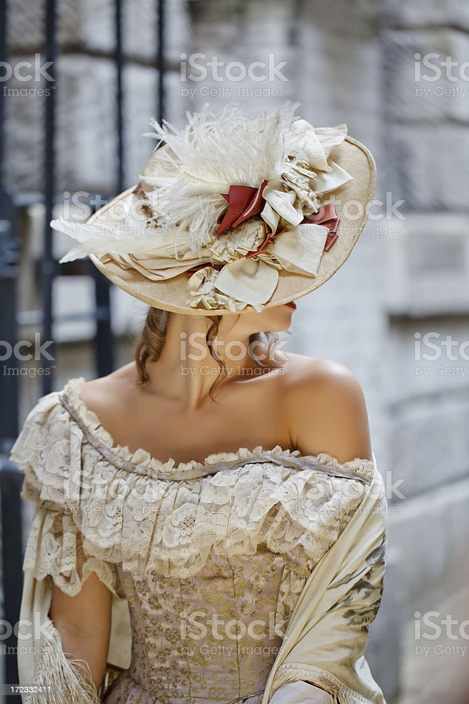 Victorian style royalty-free stock photo