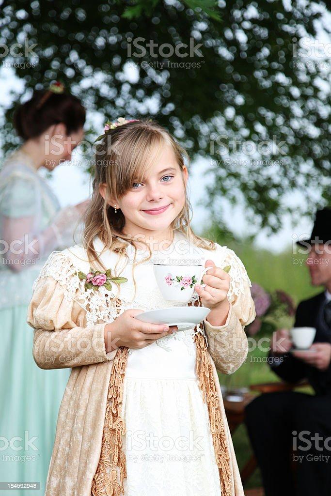 Victorian Tea Party royalty-free stock photo