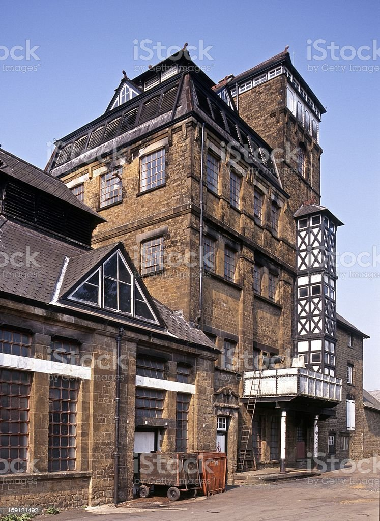 Victorian tower brewery, Hook Norton, UK. royalty-free stock photo