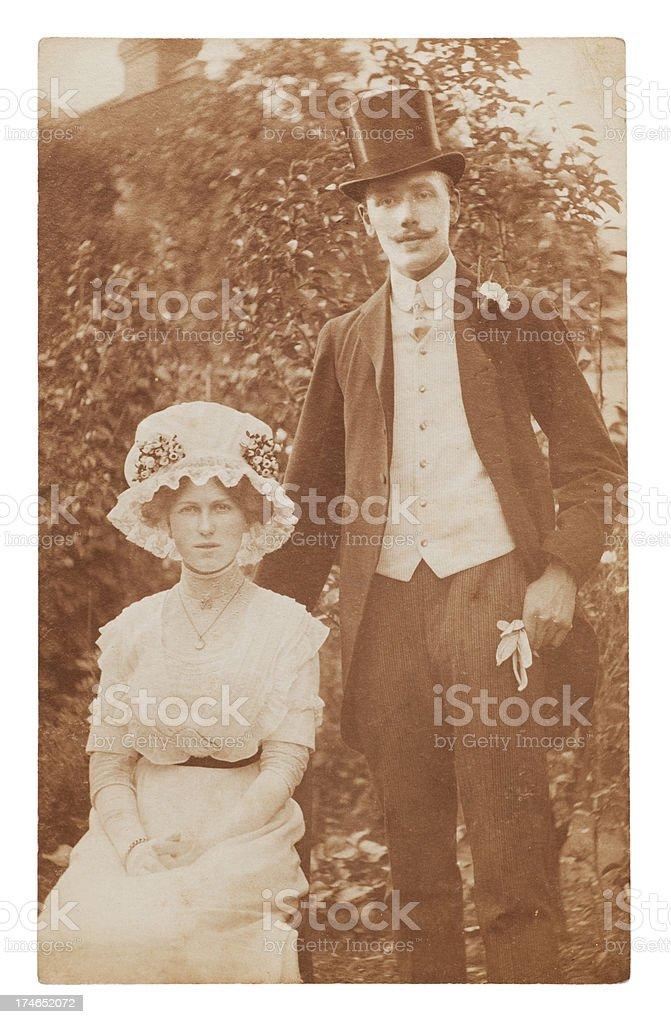Victorian Wedding stock photo