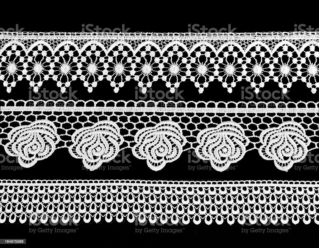 Victorian-style lace royalty-free stock photo