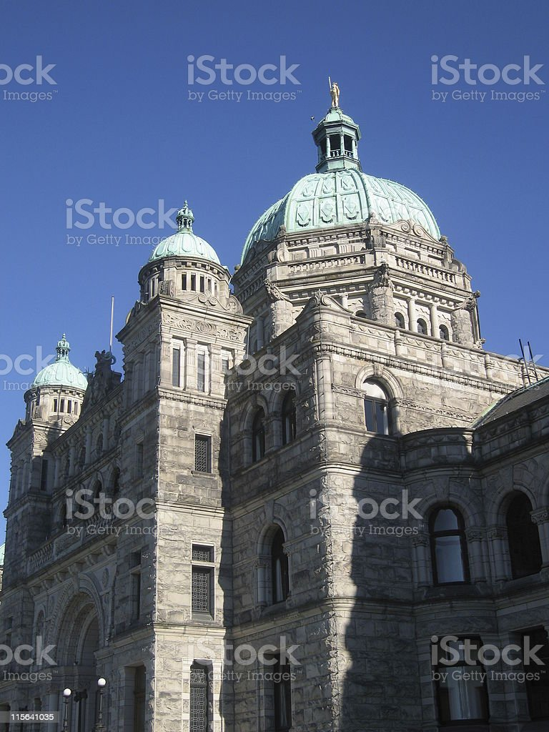 Victoria's Parliament royalty-free stock photo