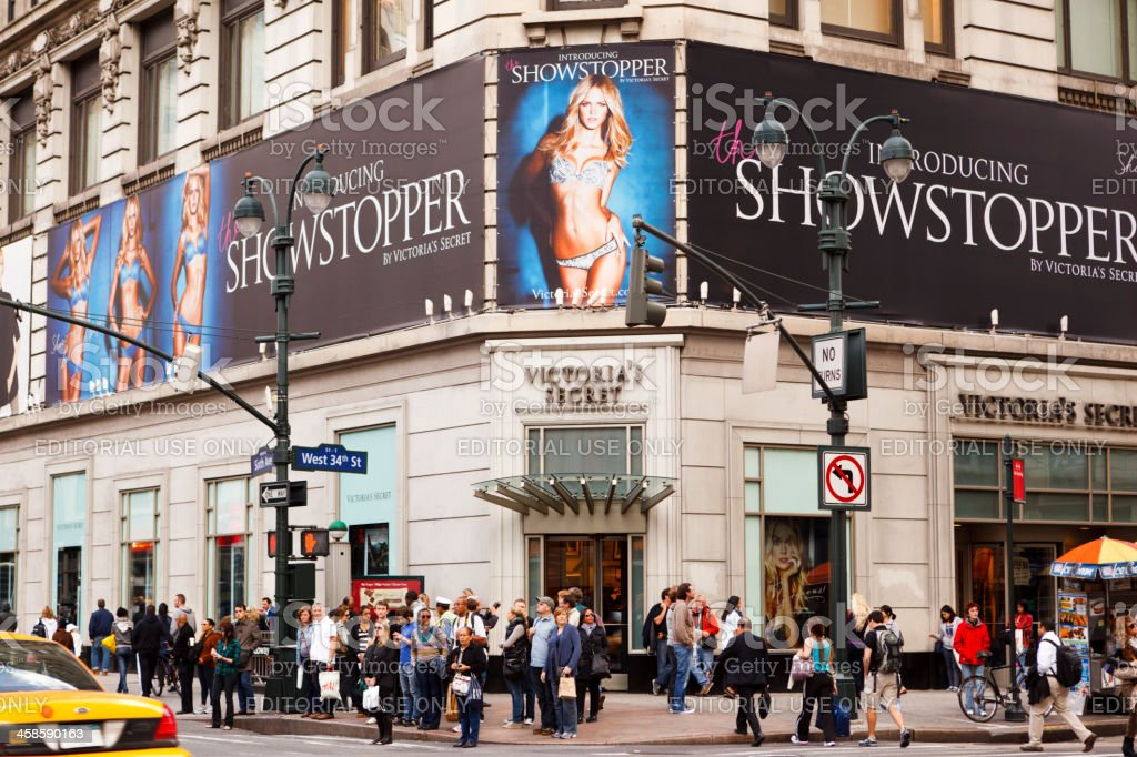 Victoria's Secret 34th Street Manhattan stock photo