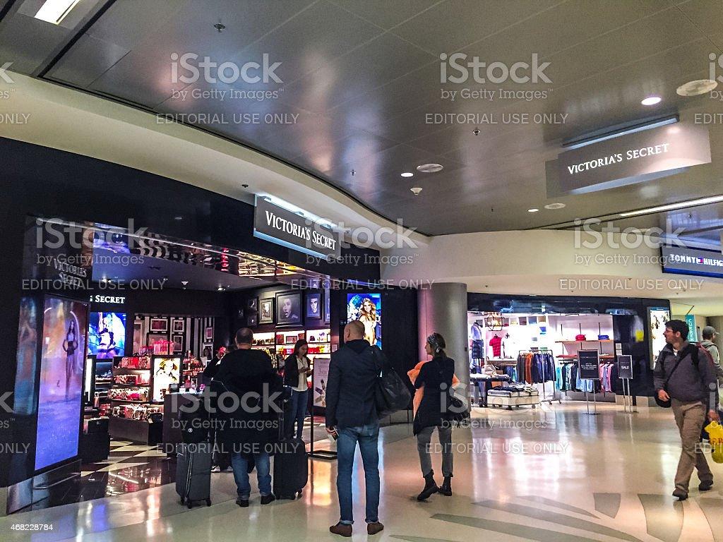 Victoria's Secret at Miami Airport stock photo