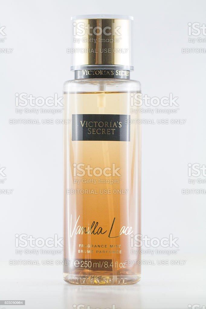 Victoria's Secret perfume isolated on white stock photo
