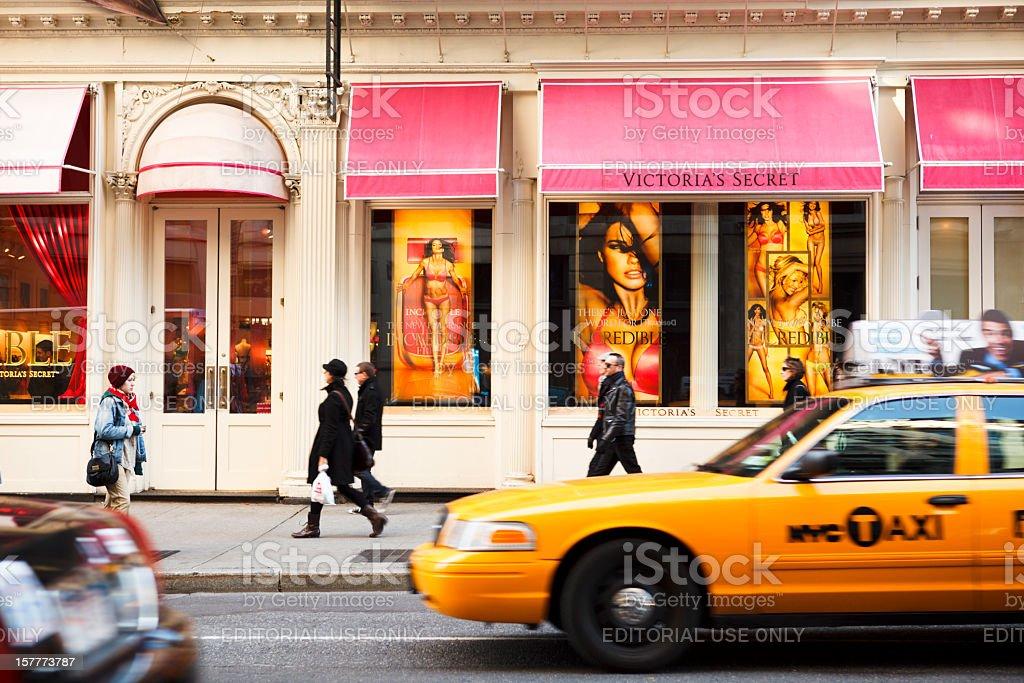 Victoria's Secret Soho Manhattan stock photo