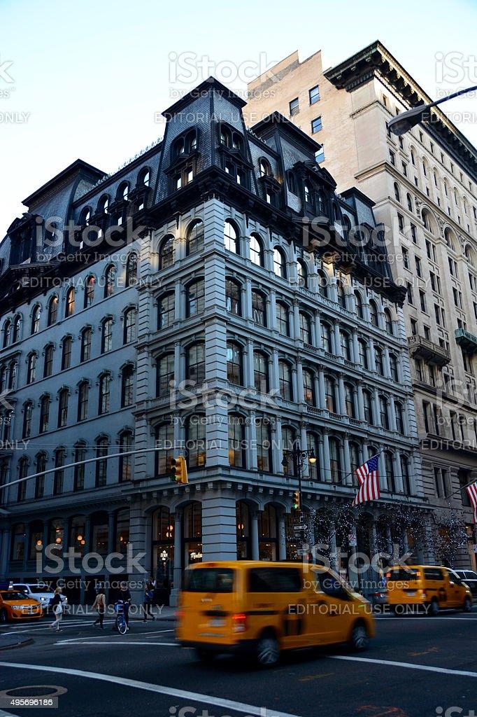 Victoria's Secret store 5th avenue stock photo