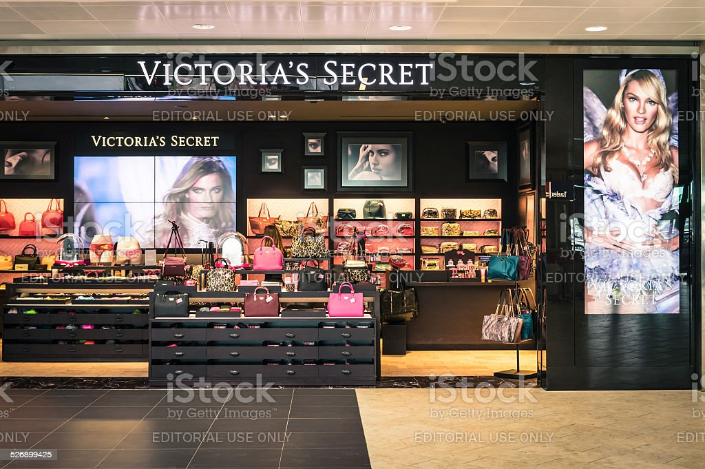 Victoria's Secret store at Bologna interational airport stock photo