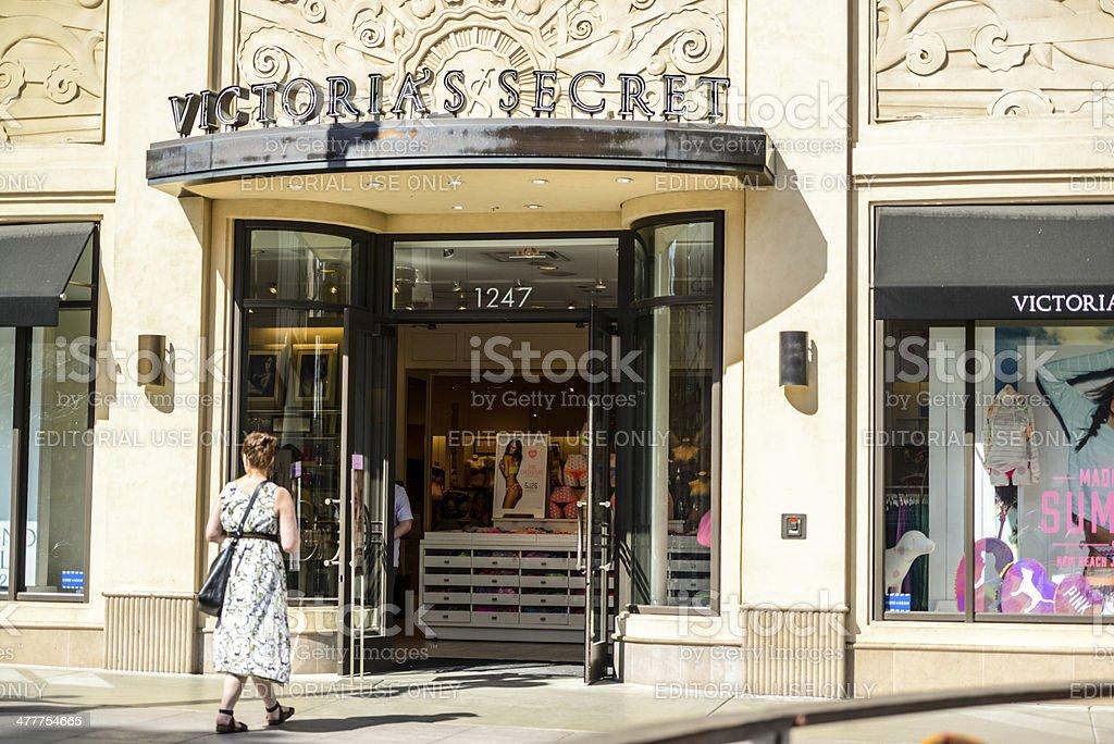 Victoria's Secret Store in Santa Monica, USA stock photo