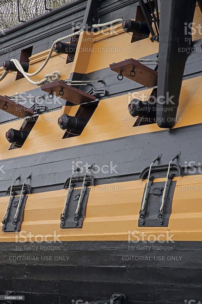 Victorious Guns stock photo