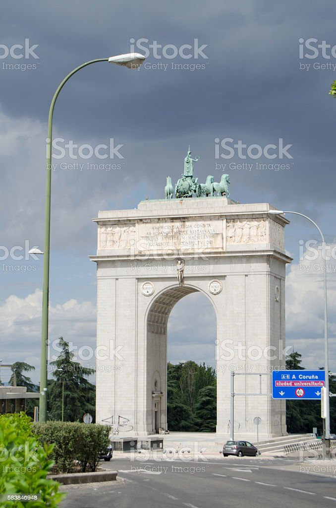 Victory Arch stock photo