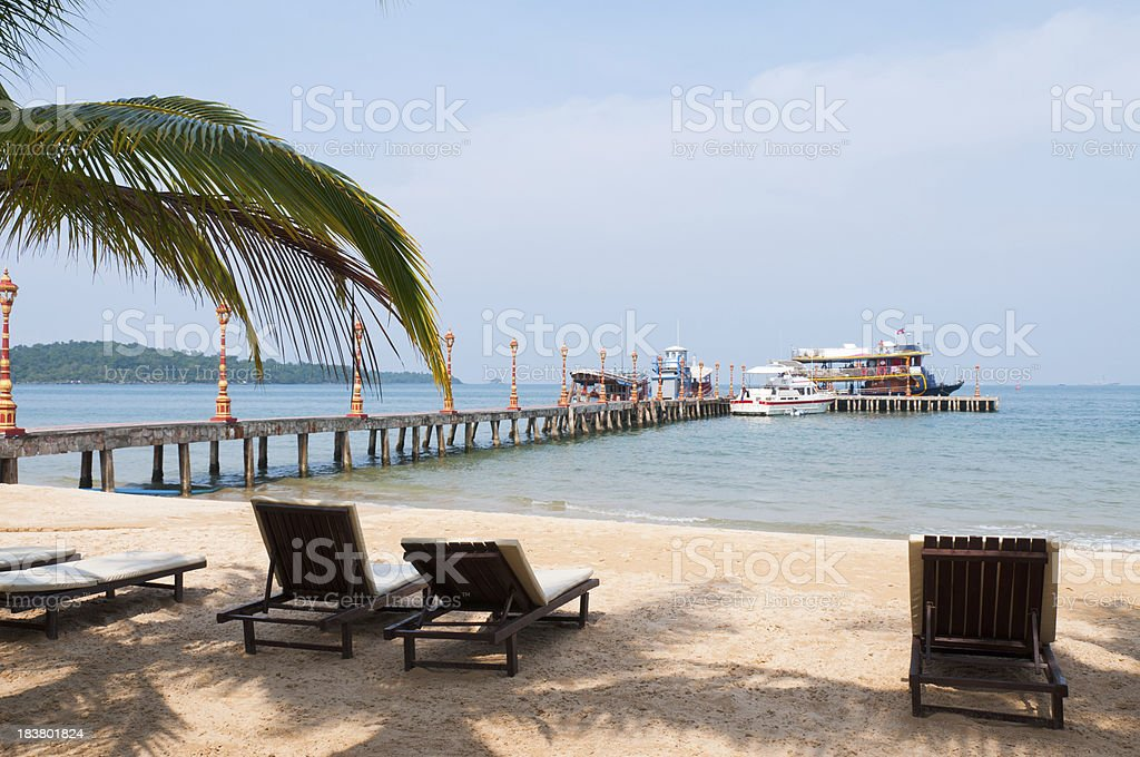 Asia, Cambodia, Lounge Chair, Outdoor Chair, Sihanoukville