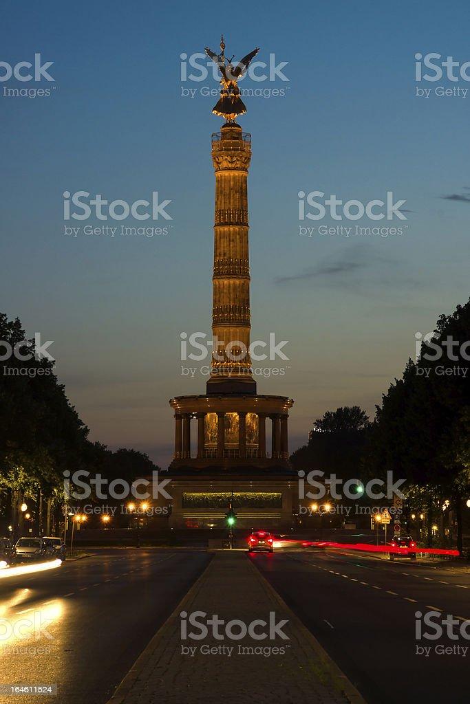 Victory Column. Berlin royalty-free stock photo