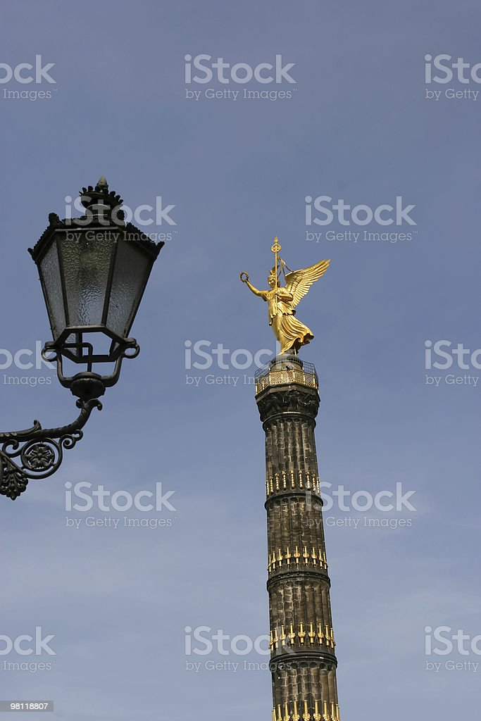 Victory Column, Berlin stock photo