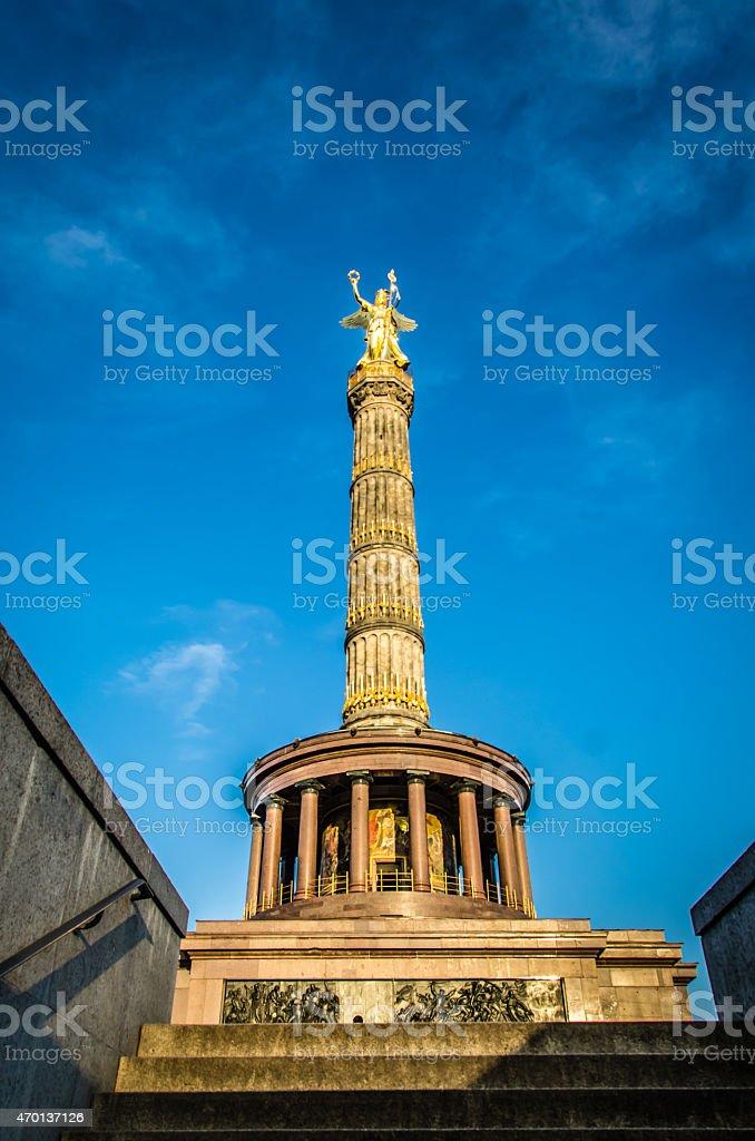 Victory Column (Siegessaule) stock photo