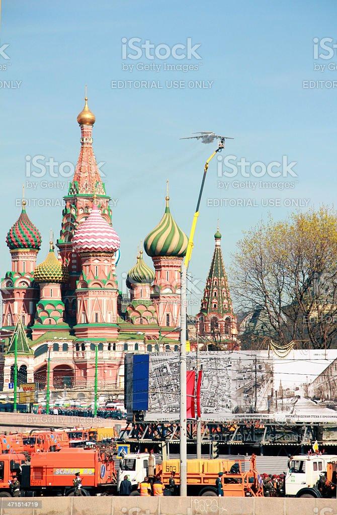 Victory Day Parade royalty-free stock photo