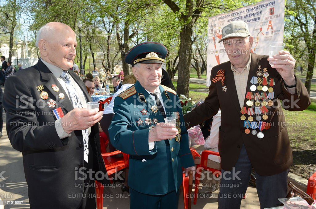 Victory Day royalty-free stock photo