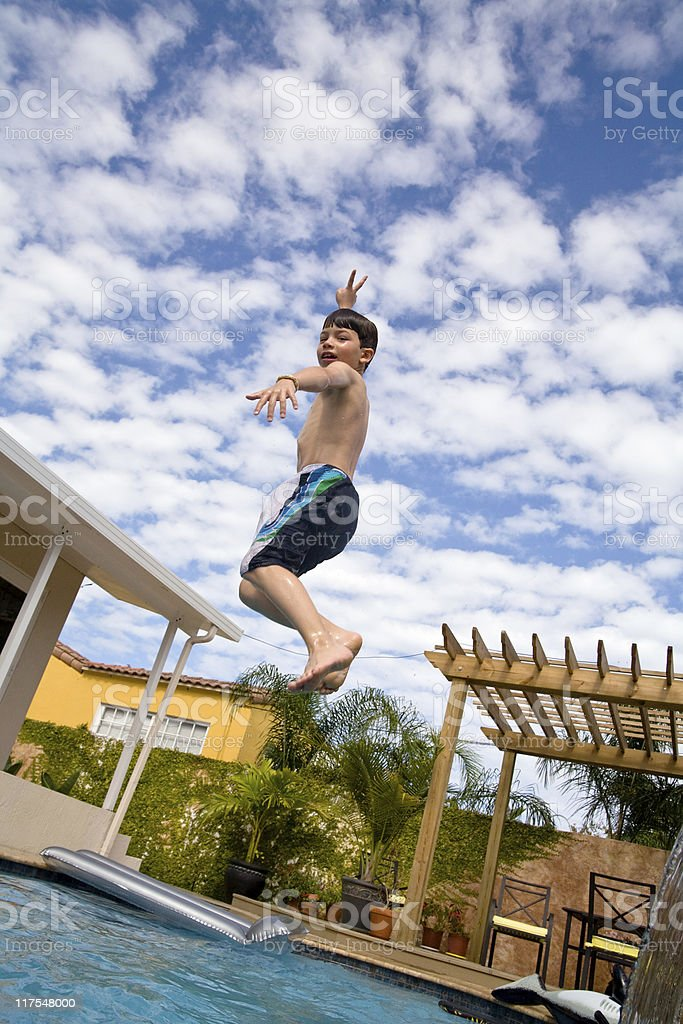victory in the sky royalty-free stock photo